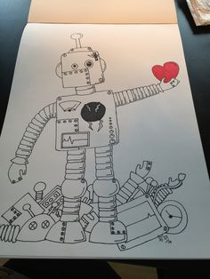 Found the heart  Robot
