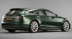 Tesla Model S Shooting Brake Is Ready To Start Wagon Its Tail #news #Shooting_Brake