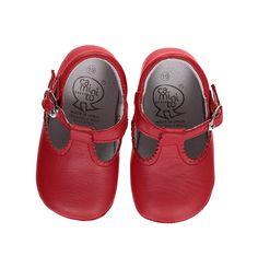 BabyPrem Baby Boys Shoes British Classic T-Bar Shoes Blue /& Navy Size 0-18 m