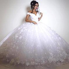Image result for v cut ball wedding dresses