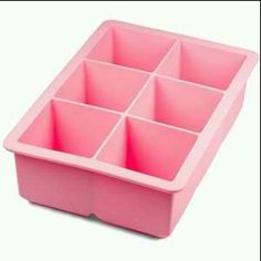 "For a classic looking lowball and an unwatered down cocktail on the rocks, keep a couple of these bad boys in the freezer, (distilled water makes clearer, better tasting ice) in freezer zip-locks--2"" Cube Ice Silicone Trays by Tovolo; www.amazon.com"