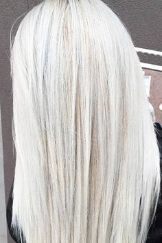 Trendy Hair Color : Try platinum blonde hair shade if you want to stand out from the crowd. This col
