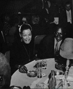 Billie Holiday and Miles Davis