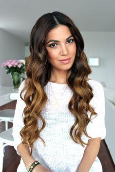 Soft Bouncy Curls Tutorial