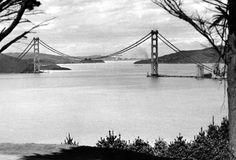Golden Gate Bridge, 1936.