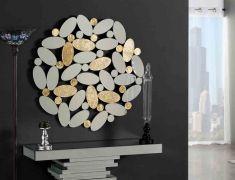 Espejos Decorados en Pan de Oro : Modelo BOILA