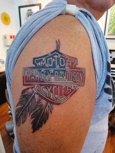 Image detail for -Best Tattoo Forever: harley davidson tattoo
