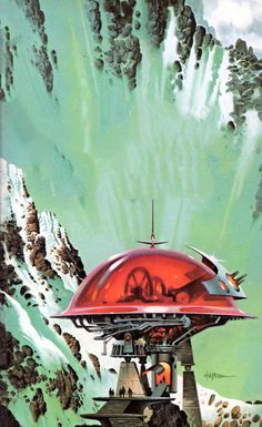 Paul Alexander - The very slow time machine, 1979. / The Science Fiction Gallery