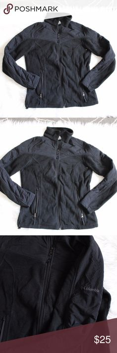 Columbia jacket Columbia fleece zip up jacket.  pockets on both sides.  Will keep you warm in this winter coming. Columbia Jackets & Coats