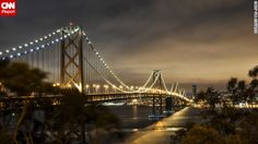 The San Francisco fog lifted long enough for Gej Jones to capture the Bay Bridge from T...