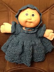 Ravelry: Cabbage Patch Preemie - Doll Ensemble pattern by Denise (Augostine) Owens