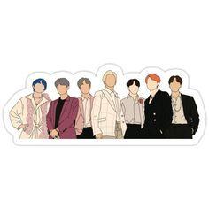Stickers Kawaii, Pop Stickers, Anime Stickers, Printable Stickers, Bullet Stickers, Yoongi Bts, Bts Jungkook, Bts Boys, Theme Bts