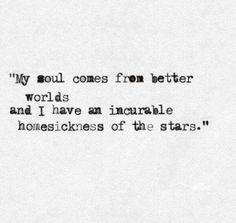 Stars. Infj