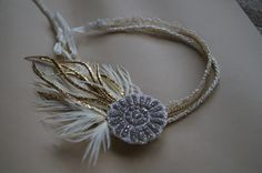 Great Gatsby headband made by Embellished Design.  www.embellisheddesign.com