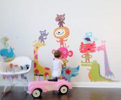 Vinilo infantil o stickers de tela de Pop & Lolli. Vinilos decorativos infantiles.