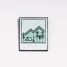nice pin instand photo // enamel pin // by niceniceniceDE on Etsy