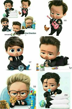 Awww they're all soo cuteee 😍 Credit to IG : @per.zayn.fact Go follow I'm sure you won't regret it.