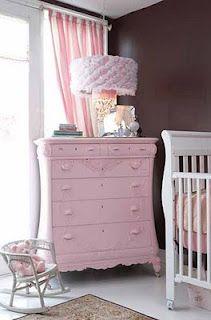 little girl pink dresser....