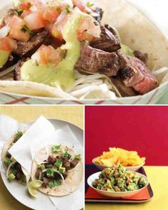 ... about Taco Recipes on Pinterest | Tacos, Taco bake and Making tacos