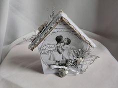 Geldgeschenk zur Hochzeit,Schachtel,Box von Plan B auf DaWanda.com