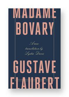 Madame Bovary cover artwork by Stefanie Posavec