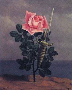 René Magritte(1898-1967)  Le Coup au coeur  1952