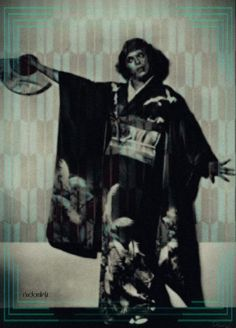 bowieaddict1:Special thanks to Random LightWait, is that Bowie in a kimono?