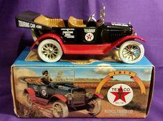 Vintage 1997 ERTL diecast replica 1917 Texaco Firestone maxwell touring car NEW #texacoFirestonetiresertl