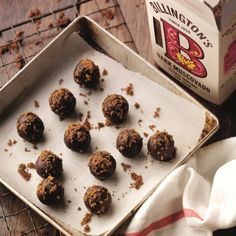 The most exciting confectionery and sweets recipes including Turkish delight & chocolate fondant are on Baking Mad. Chocolate Fondant, Chocolate Truffles, Sweets Recipes, Baking Recipes, Confectionery Recipe, Truffle Shuffle, Truffle Recipe, Tasty, Yummy Food