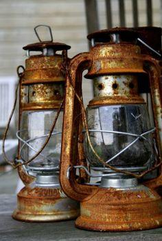 rusty lanterns