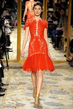 Marchesa Fall 2012 Ready-to-Wear Fashion Show - Jacquelyn Jablonski