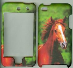 GREEN HORSE faceplate Accessory case Apple Ipod Touch 4th Gen 8gb 16gb 32gb #UnbrandedGeneric