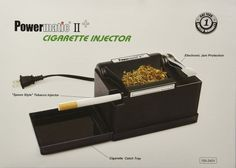 NEW Powermatic 2 PLUS Electric Cigarette Injector Machine Tobacco Smoking Maker