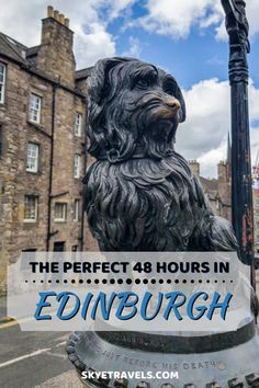 I can't figure out how I've never written a guide on how to spend 48 hours in Edinburgh, considering this is my favorite city and home base. Here it finally is. #VisitEdinburgh #Edinburgh #2dayitinerary #VisitScotland Best Travel Guides, Europe Travel Guide, Travel Destinations, Travelling Europe, Traveling, European Destination, European Travel, Scotland Travel, Ireland Travel