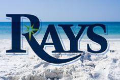 Tampa Bay Rays and our wonderful beaches. Best of both worlds! #baseball #florida #beaches