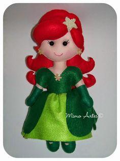 Mimo Artes: Princesa Ariel - Pequena Sereia
