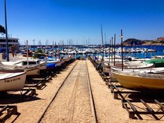 Sant Feliu de Guixols is a charming town located on the Costa Brava in Girona, just one hour from Barcelona. Boasting sandy beaches and natural countryside. #GrabYourDream #travel #port #spain