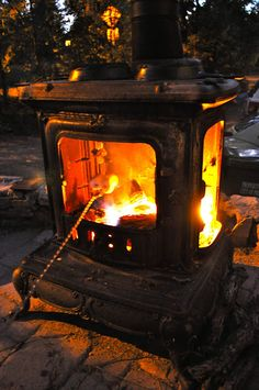 woodstove fire pit - Google Search