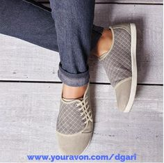 These sneakers bring a new meaning to slip-ons! https://www.avon.com/product/side-lace-sneaker-57443?rep=dgari #shoes #sneakers #slipons #avon