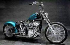 Grandes simios en un lindo bobber - Harley Davidson Choppers & More Motorcycles - Harley Davidson Custom Bike, Classic Harley Davidson, Harley Davidson Chopper, Harley Davidson Motorcycles, Harley Bobber, Harley Bikes, Bobber Bikes, Cool Motorcycles, American Motorcycles
