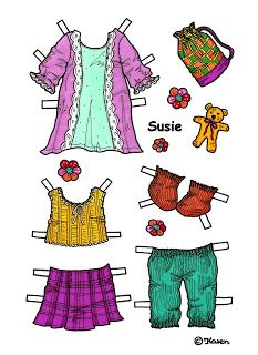 Karen`s Paper Dolls: March 2013