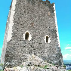 Paternò Castle and view of city and Etna volcano http://my-italy-travels.blogspot.it/2017/12/paterno-castle.html
