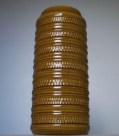 Vintage+1960s-1970s+CARSTENS+Keramik+West+German+Pottery+Vase+Fat+Lava+Period