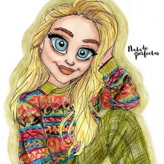I love this talented amazing GIRL, so inspiring and powerful always! @sabrinacarpenter ♥ #nadadeperfectas #sabrinacarpenter #imstaartist #fanart #sketch #drawings #art #holidays #merrychristmas #love #kindness #peace #humble