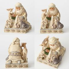 Jim Shore Heartwood Creek Santa Collection