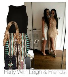 """""""»Party With Leigh & Friends."""" by storyofmylife1danita-scream on Polyvore featuring River Island, Riedel and Dolce&Gabbana"""