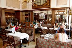 Viennese coffeehouses - this is Cafe Mozart