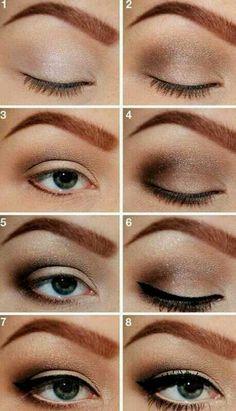 Ojos difuminados marrones