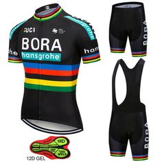 c1e5ef6fd Big Discount 2018 Team Pro BORA Cycling Jersey Reflective Maillot Ropa  Ciclism Men Bike Bicycle Jersey Cycling Cloth 12D Pad Outdoor Jersey