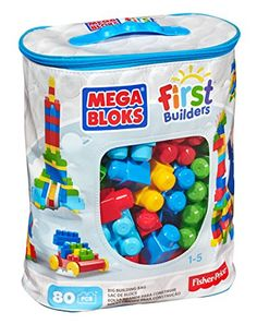 From our online shopping store of baby toys in Pakistan you can search and find out First Builders Big Building Bag by Mega Bloks that is of imported quality. It is having 80 building blocks. Building Toys For Toddlers, Toys For Boys, Kids Toys, 4 Kids, Big Building, Classic Building, Toddler Toys, Baby Toys, Mega Blocks